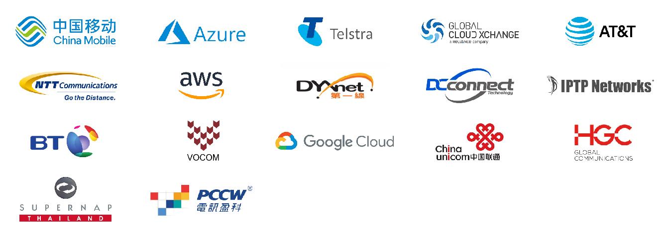 合作夥伴 數位通國際